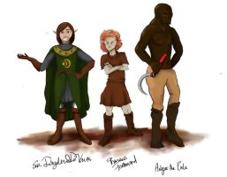 Sir Dryden's Crew by MissScarlett12