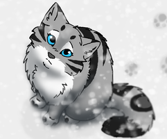 As the Snow Falls. by ArualMeow