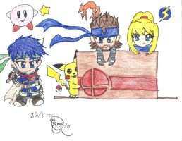 my character choices of brawl by KaishySaiyanPrincess