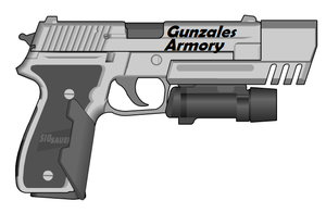 Gunzales SIG-Sauer P226 by Ghost17XD