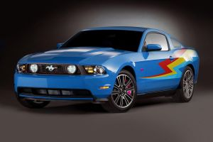 Ford Mustang Rainbow Dash by Microkey