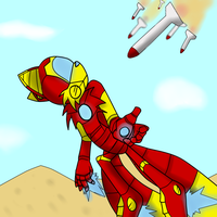 Tails IronMan request by Tanaya001