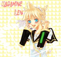 vocaloid: Kagamine Len by Haro-chan
