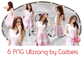 Photopack PNG #2: 6 PNG Ulzzang [Kaly Cat] by Catbeis