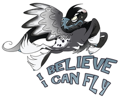 I BELIEVE I CAN FLY by 11IceDragon11