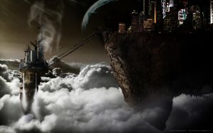 Cloud city by steelgohst