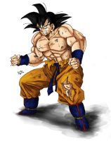 Son Goku by TimothyJamesF