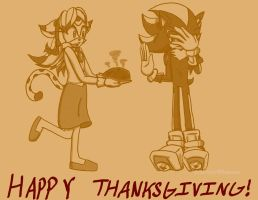 Happy Thanksgiving 2015! (2/3) by FiveyWhooves