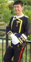 Otakon 2012 Costume Test: One Moment of Peace by galaxy1701d