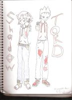 Shadow and Tord by ScottandRamona4ever
