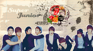 Super Junior Coffeetheme by tearystar08