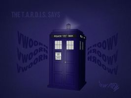 The Tardis by bealor