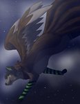 Fly across the night .:ce:. by Th3Frgt10Warrior