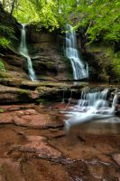Tregarth Waterfall by CharmingPhotography