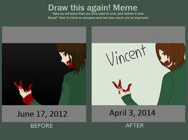 Before and After - Vincent by MapleBeer-Shipper