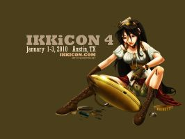 Ikkicon 2010 Mascot Wallpapers by ghostfire