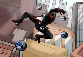 M is for Mister Terrific by Cubed1