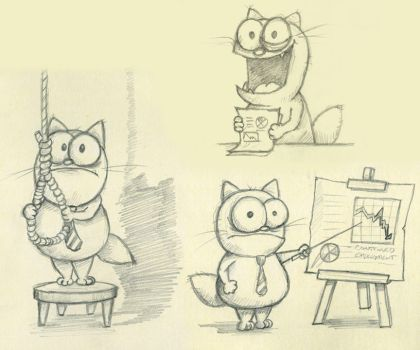 Sketches for Let's Have a Meeting! by spiraln