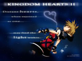 Distant Hearts -KH Desktop- by MichaelMayne