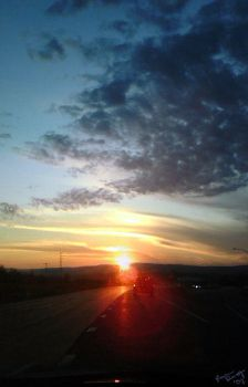 Drive Me Into The Sunset by greyorm