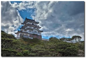 Hirado castle by dragonslayero