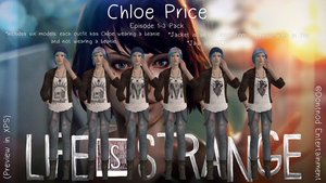 LiS - Chloe Price - Episode 1-3 Outfits by angelic-noir
