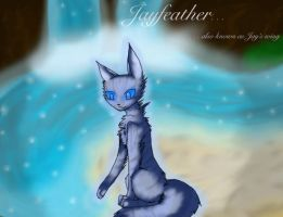jayfeather at moonpool by vampkatz