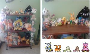 My Digimon Collection 20.7.2012 by tinttiyo