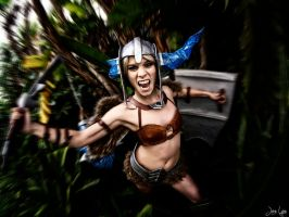 Sejuani ganks from the jungle! by SNTP