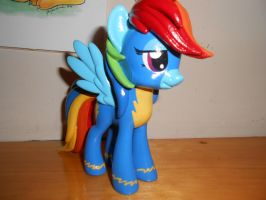 Wonderbolt Rainbow Dash Vinyl Figure by GoEatCheesecake