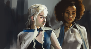 Game of Thrones - Speed Paint by Estrada