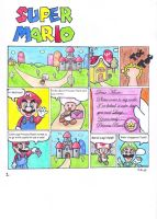 Super Mario - Page 1 by Ma-yara