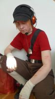 .:Scout-cosplay:. by Hukkis