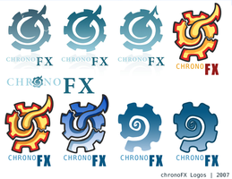 chronoFX Logos by darthrith