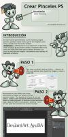 Tutorial Crear Pinceles en Photoshop by lauraypablo