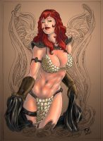Red Sonja Color by rllas