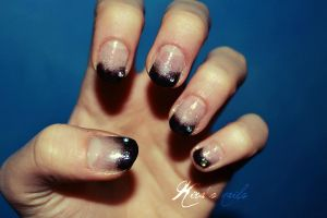 New Year Nail Art by KiraSTFD
