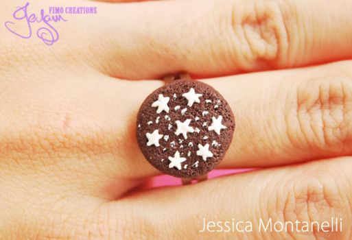 Pan Di Stelle cookie - Ring by Jeyam-PClay