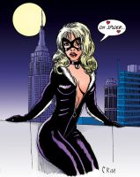 Black Cat Redux by MisterFear