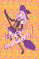 Owari no seraph - Shinoa - Halloween ver. by nymei