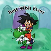 DBZ Abridged: Best Wish Ever by jewelschan