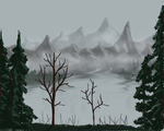 Late Autumn in the Mountains by Dgastin