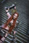Female Barbarian Diablo 3 Cosplay by emilyrosa