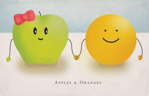 Apples and Oranges by goodmorningvoice