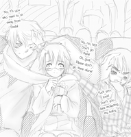 (Hetalia) BKB : Happy Movie Time (RusAme+Eng) by Hyperkaoru13