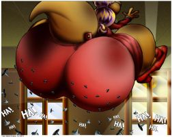 Kelly-Roo Sat On Lots Of Tacks. by Virus-20