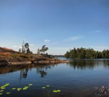 A warm summer day at the lake by Pajunen