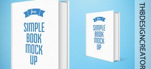 Book Mockup |PSD |SIMPLE by ThbEdition