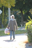 Man with Bag 2 by NoAttributionStock