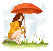 Rainy Day by lycheebunny